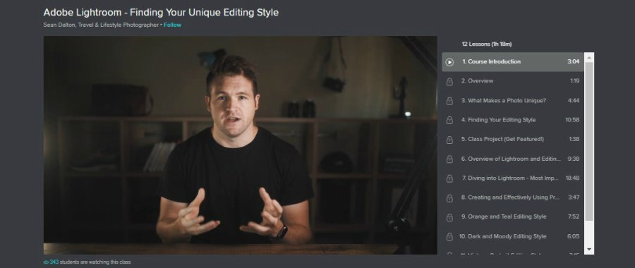 Adobe Lightroom - Finding Your Unique Editing Style