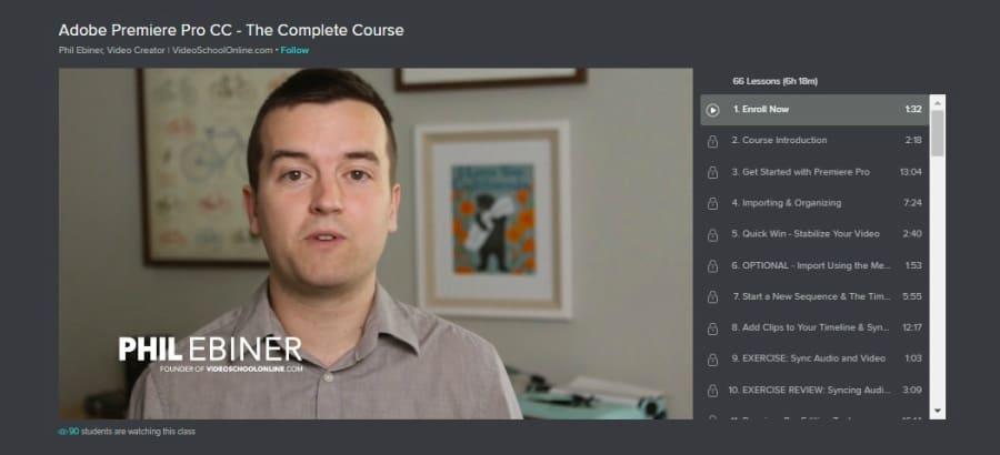 Adobe Premiere Pro CC - The Complete Course