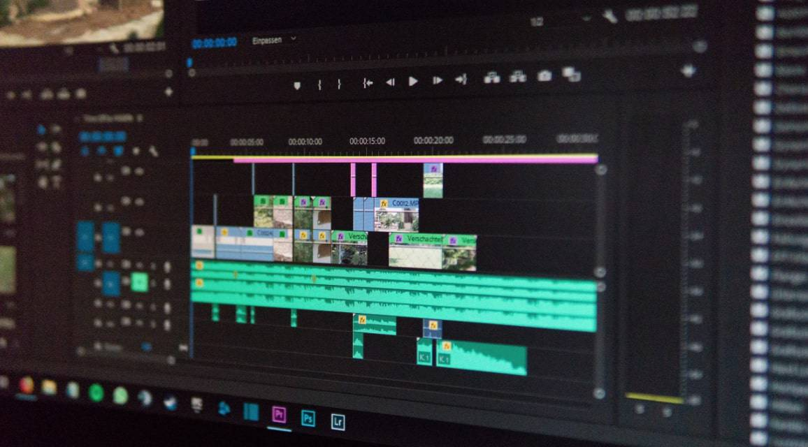 video editing with special effects skill