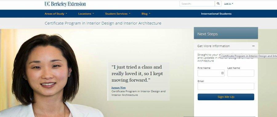 Certificate Program in Interior Design and Interior Architecture at UC Berkeley Extension