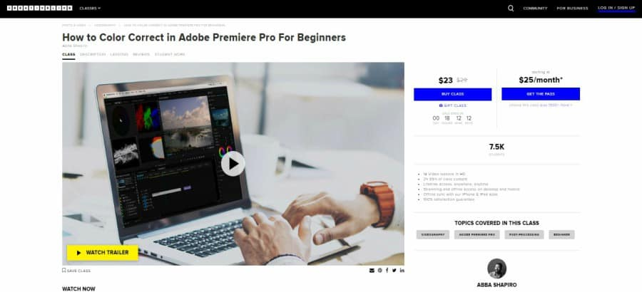 How to Color Correct in Adobe Premiere Pro for Beginners