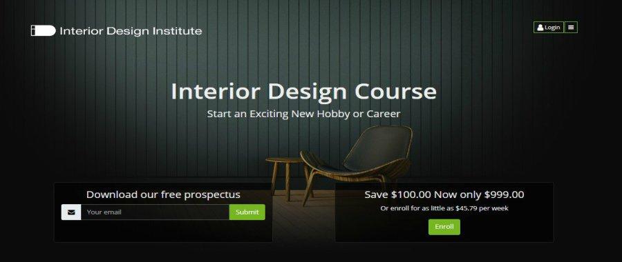 Interior Design Course at The Interior Design Institute