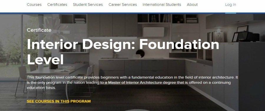 Interior Design: Foundation Level at UCLA