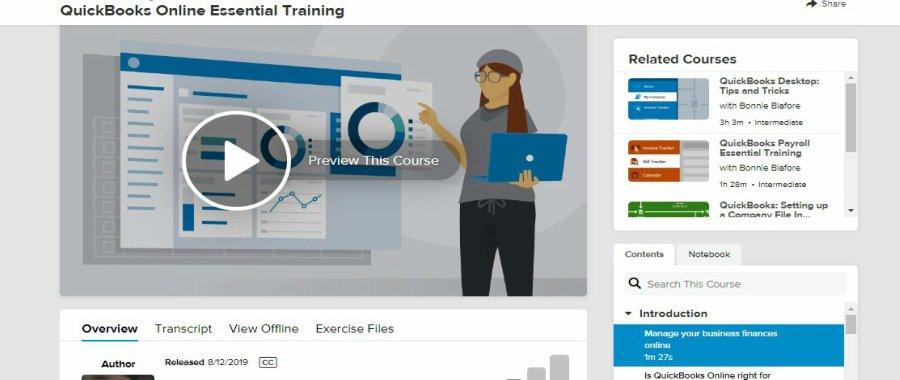 Lynda QuickBooks Online Essential Training