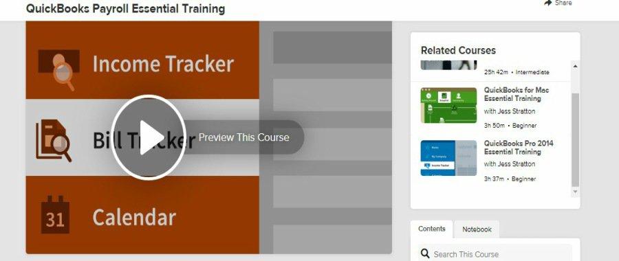 Lynda QuickBooks Payroll Essential Training
