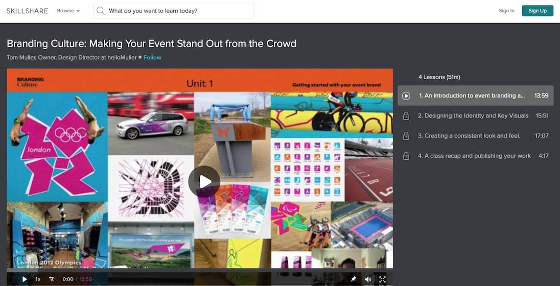 how to plan an event online
