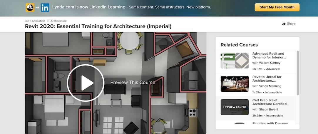 Revit 2020 Essential Training for Architecture