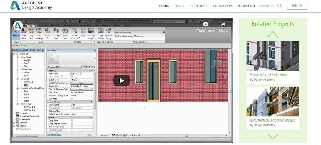 How To Use Revit (Autodesk Design Academy)