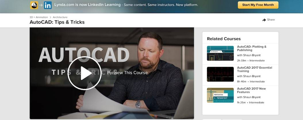 Screen Shot 2019 09 17 at 12.17.17 pm Top 10+ FREE Best Online AutoCAD Courses, Training & Classes