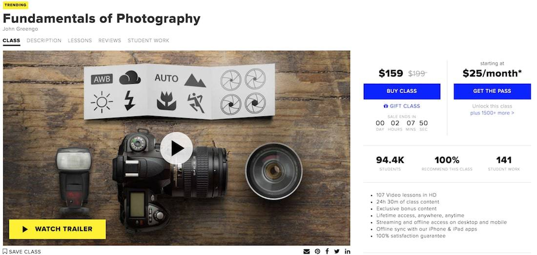 creativelive pricing