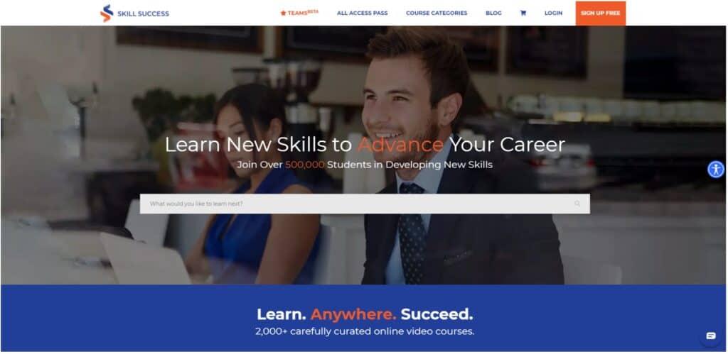 SkillSuccess Home Page