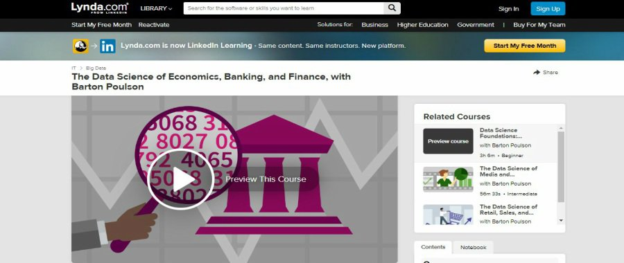 The Data Science of Economics, Banking, and Finance, with Barton Poulson