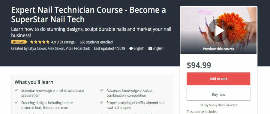 Top 7 Free Best Online Nail Technician Courses 2020