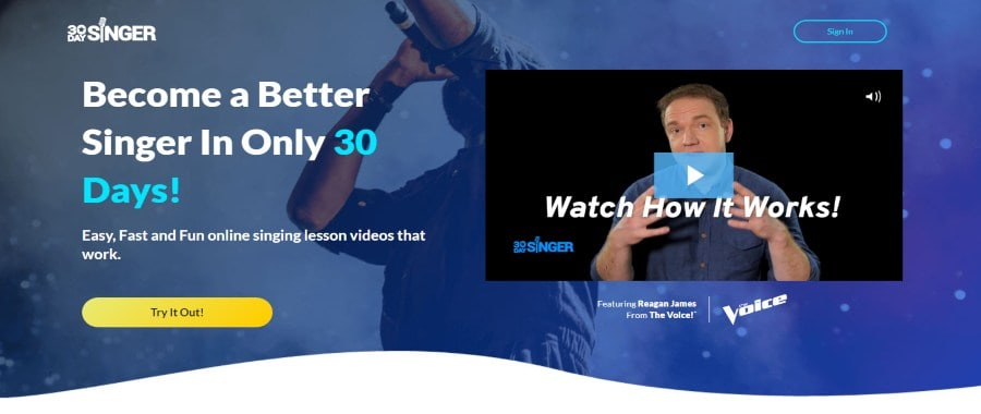 30 Day Singer: Become a Better Singer in Only 30 Days