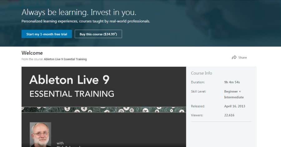 Ableton Live 9 Essential Training