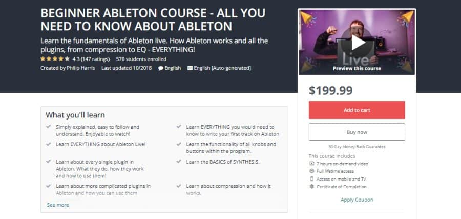 BEGINNER ABLETON COURSE - ALL YOU NEED TO KNOW ABOUT ABLETON