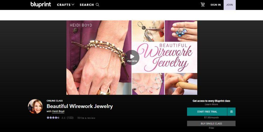 Beautiful Wirework Jewelry