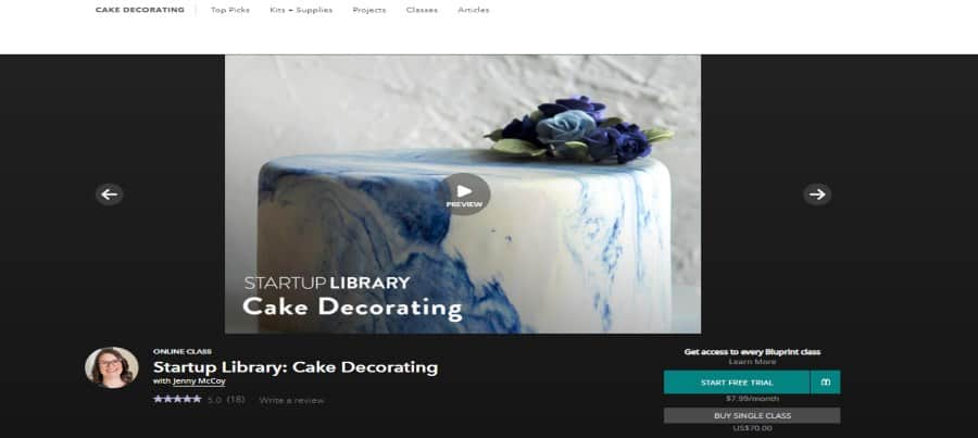 Bluprint: Cake Decorating