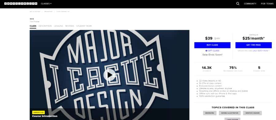 Creative Live: Logo Design 101