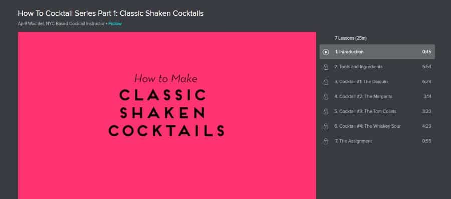 How To Cocktail Series Part 1: Classic Shaken Cocktails