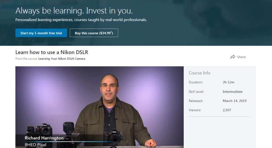Learning Your Nikon DSLR Camera