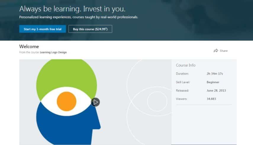 LinkedIn: Learning Logo Design