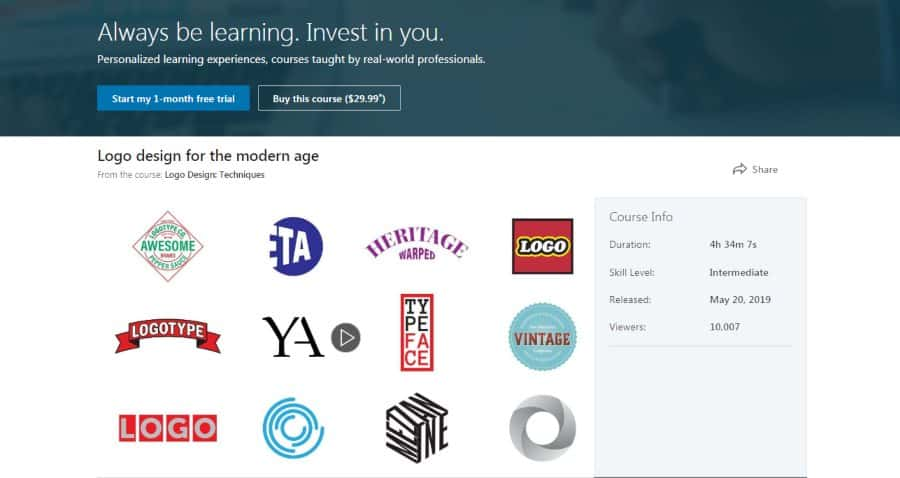 LinkedIn: Logo Design: Techniques