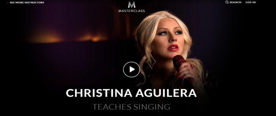 Masterclass: Christina Aguilera Teaches Singing