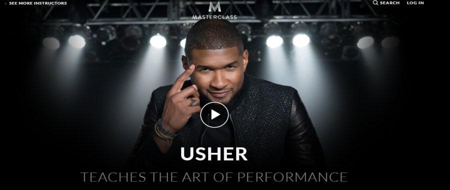 Masterclass: Usher Teaches the Art of Performance