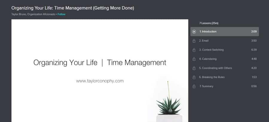 Organizing Your Life: Time Management (Getting More Done)