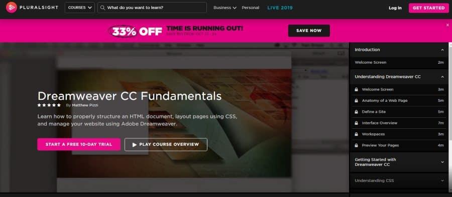 Pluralsight: Dreamweaver CC Fundamentals