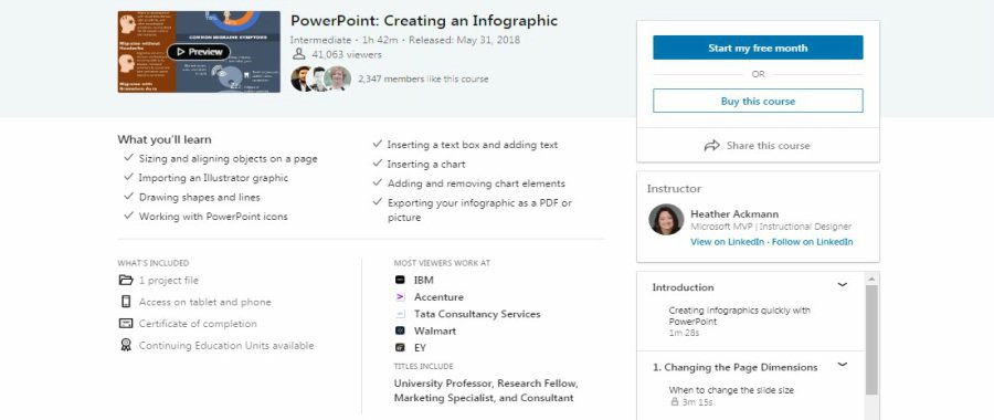 PowerPoint: Creating an Infographic