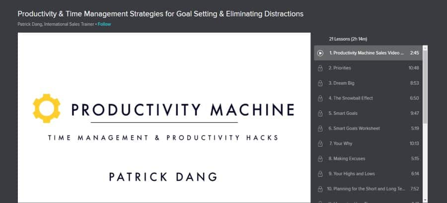 Productivity & Time Management Strategies for Goal Setting & Eliminating Distractions