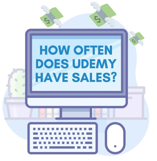 how often does Udemy have sales?