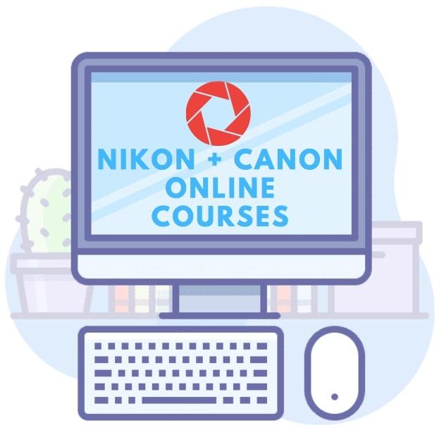 Online Photography Courses For Nikon + Canon Cameras