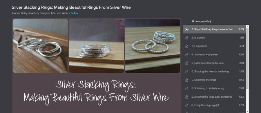 Silver Stacking Rings: Making Beautiful Rings From Silver Wire