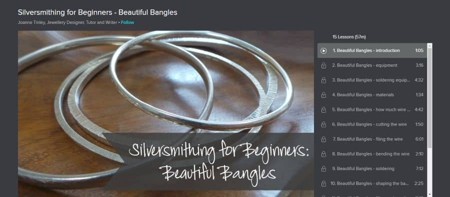 Silversmithing for Beginners - Beautiful Bangles