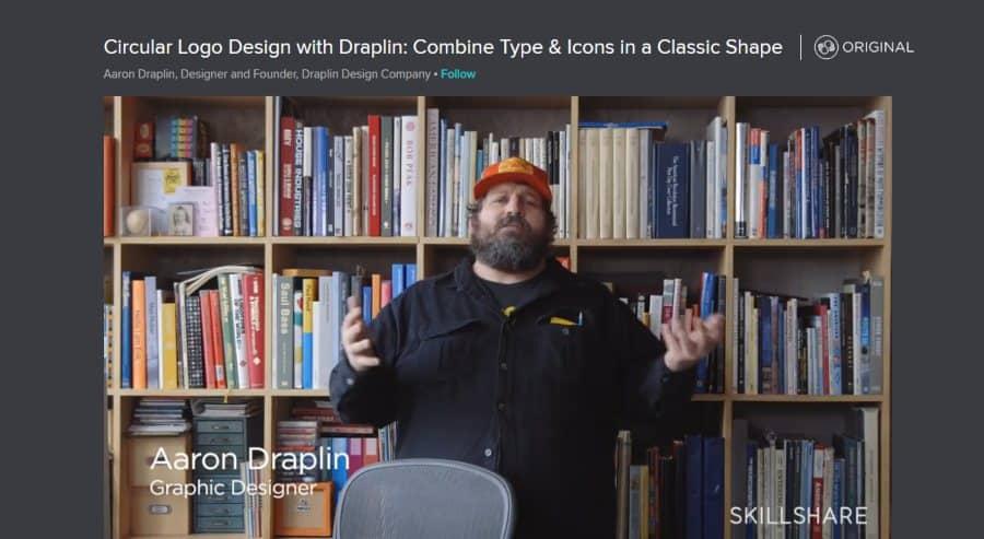 Skillshare: Circular Logo Design With Draplin: Combine Type & Icons in a Classic Shape
