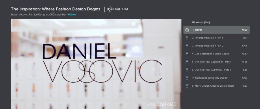 Skillshare: Inspiration: Where Fashion Design Begins
