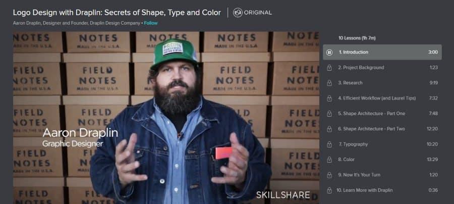 Skillshare: Logo Design With Draplin: Secrets of Shape, Type, and Colour