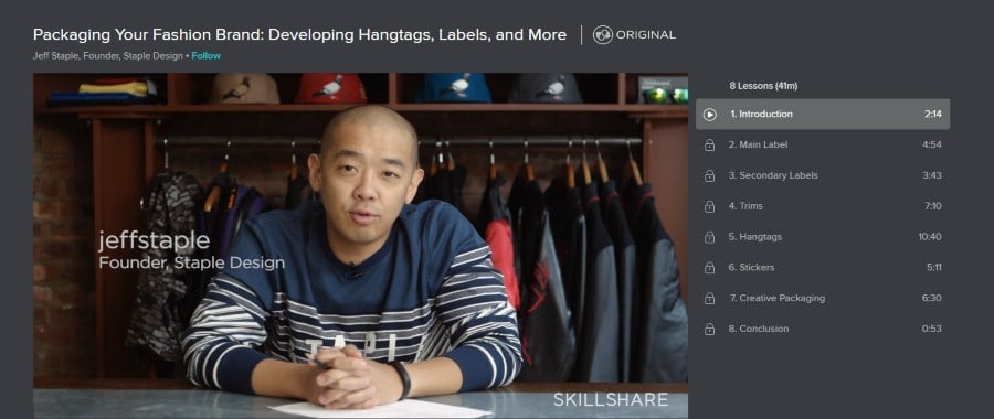 Skillshare: Packaging Your Fashion Brand: Developing Hangtags, Labels, and More