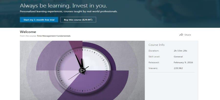 Time Management Fundamentals