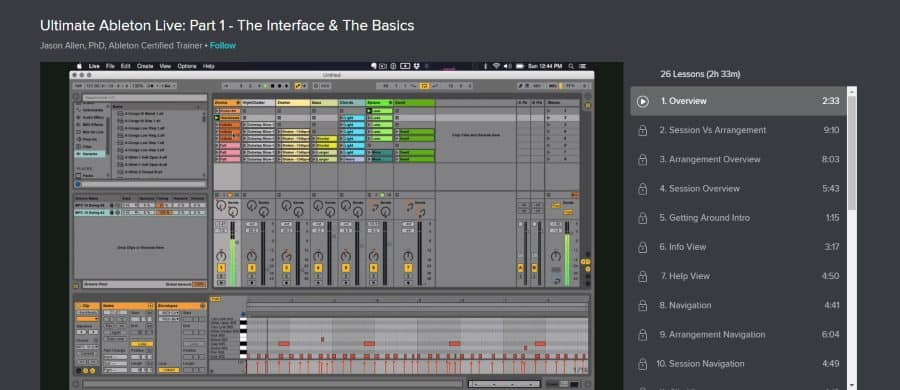 Ultimate Ableton Live: Part 1 - The Interface & The Basics