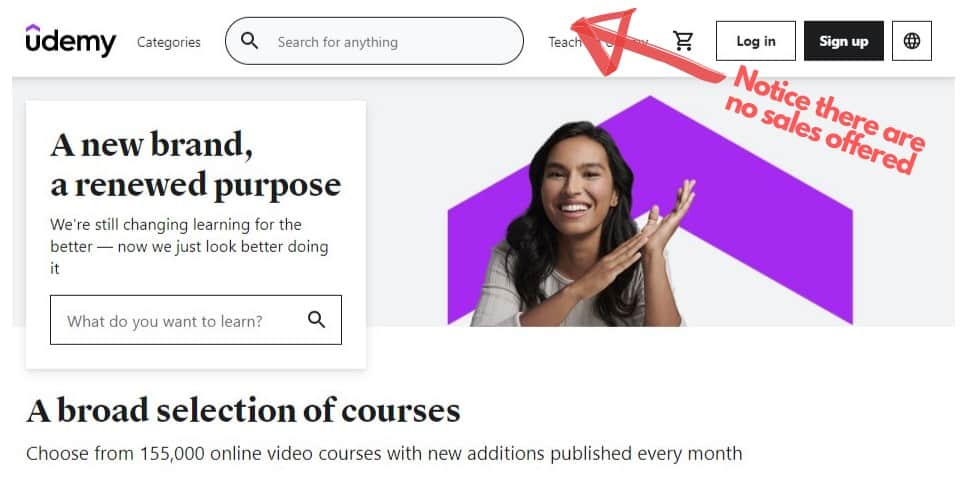 inflated Udemy pricing