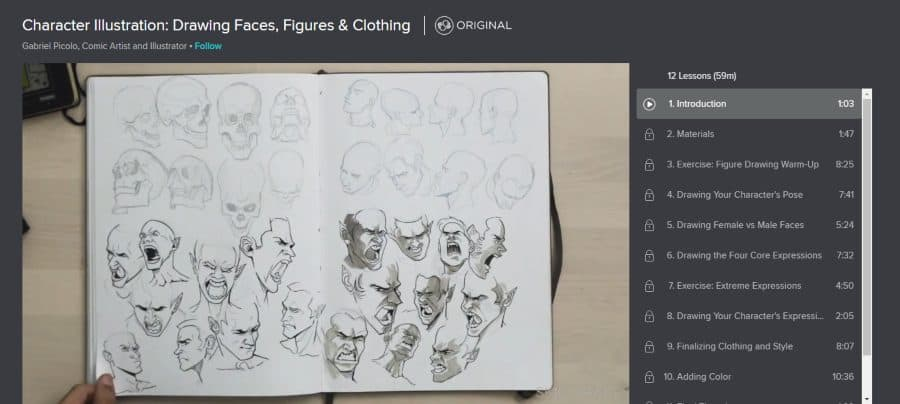 Character Illustration: Drawing Faces, Figures & Clothing
