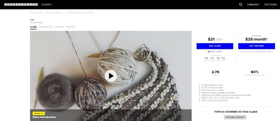 Creative Live: Knit Maker: Skills and Technique