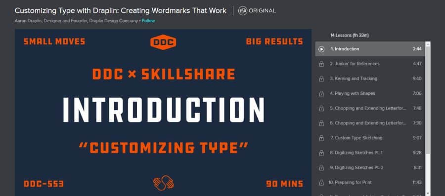 Customizing Type with Draplin: Creating Wordmarks That Work