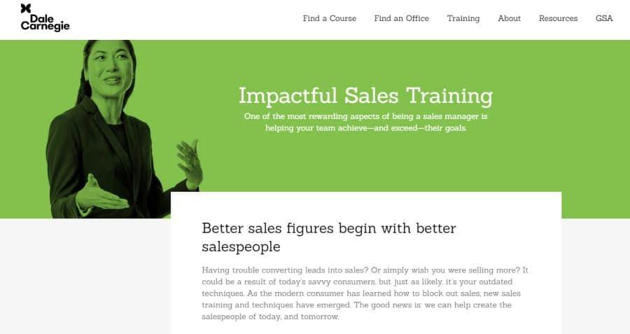 Dale Carnegie: Impactful Sales Training