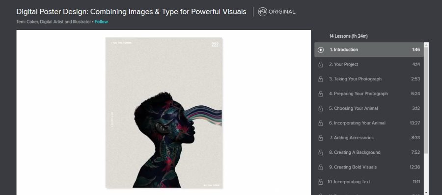 Digital Poster Design: Combining Images & Type for Powerful Visuals