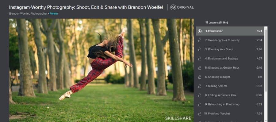 Instagram-Worthy Photography: Shoot, Edit & Share with Brandon Woelfel